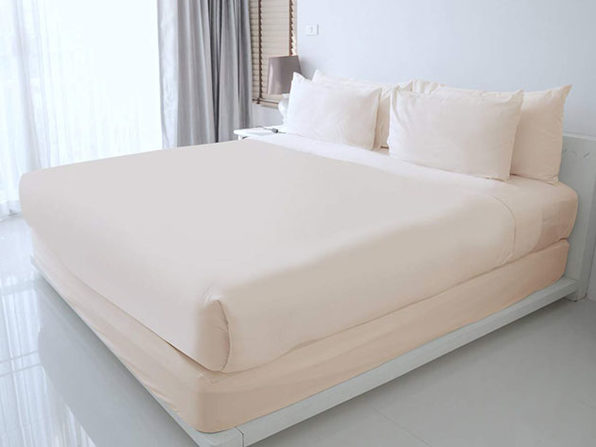 100% Egyptian Cotton Sheet Set (Ivory)