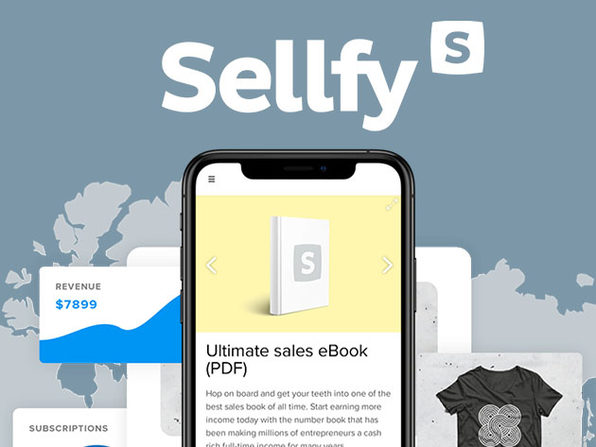Sellfy Online Store Builder: Starter Plan