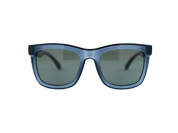 Brooklyn Sunglasses (Grey Silver Mirror)
